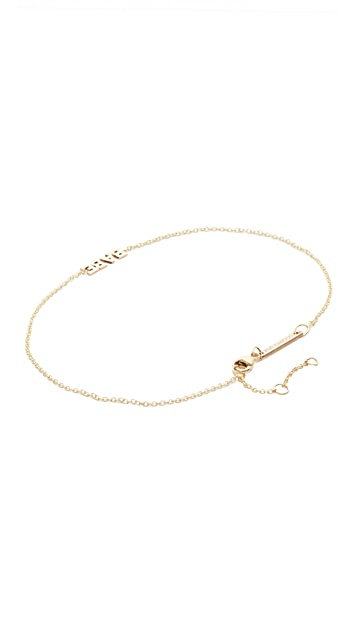 Zoe Chicco Itty Bitty Babe Anklet