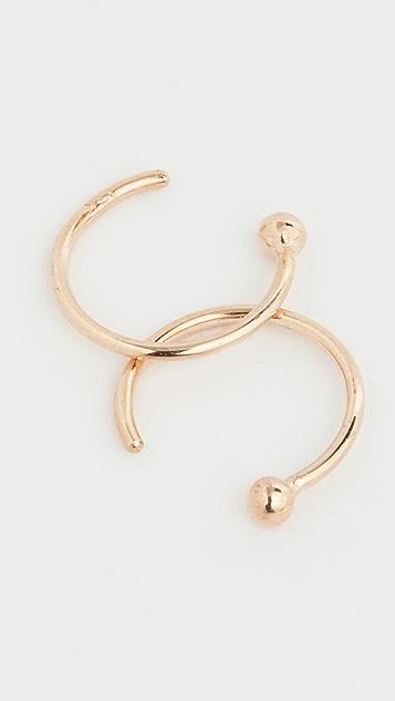 Zoe Chicco 14k Reversible Earrings