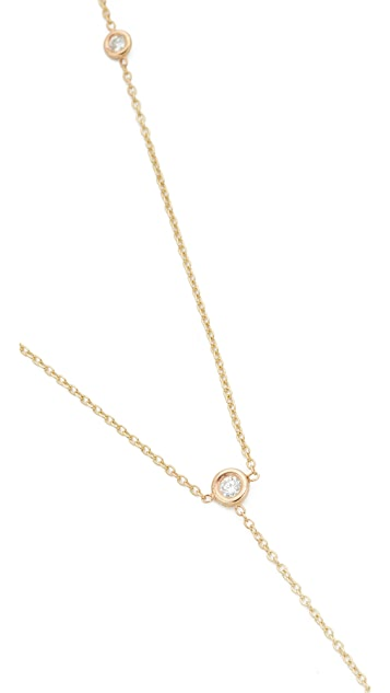 Zoe Chicco 14k Gold Lariat Necklace