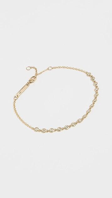 Zoe Chicco 14k Gold Diamond Tennis Bracelet - Yellow Gold