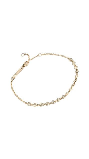 Zoe Chicco 14k Gold Diamond Tennis Bracelet