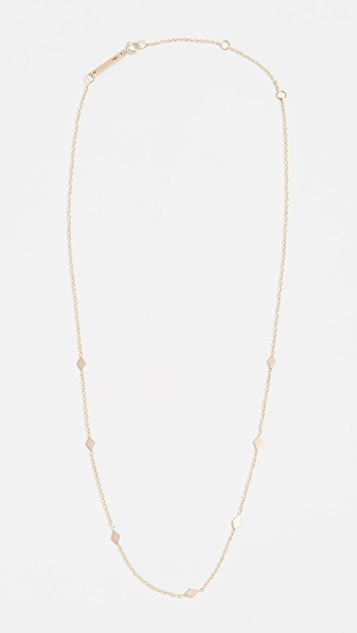 Zoe Chicco 14k Gold Choker Chain Necklace - Yellow Gold