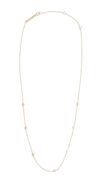 Zoe Chicco 14k Gold Choker Chain Necklace