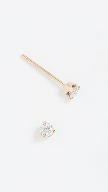 Zoe Chicco 14k Diamond Stud Earrings