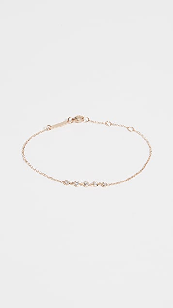 Zoe Chicco Floating Diamond Bracelet