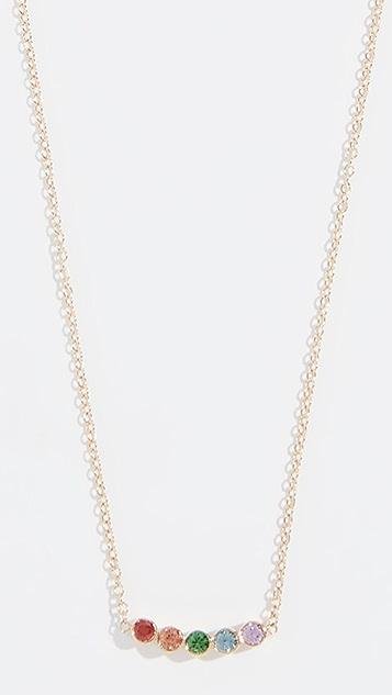 Zoe Chicco 14k Bezel Necklace