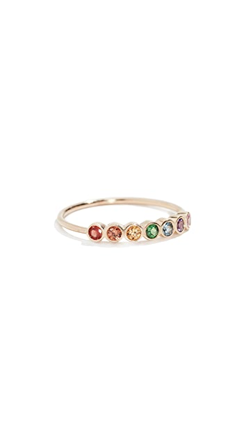 Zoe Chicco 14k Bezel Ring