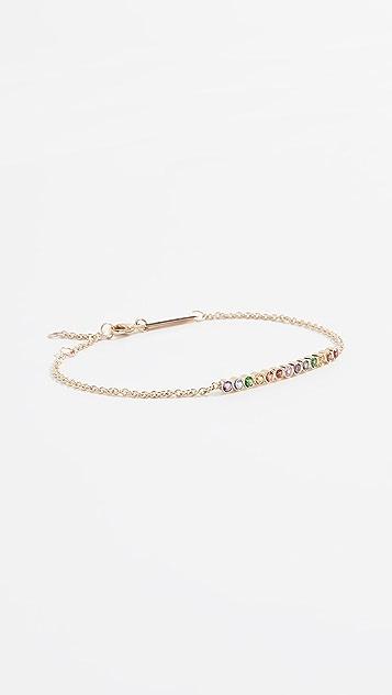 Zoe Chicco 14k Multicolor Sapphire Bracelet