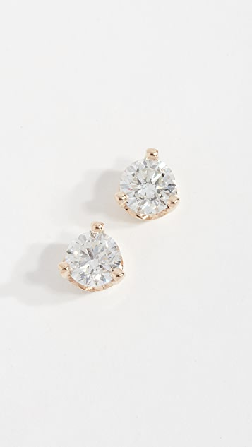 Zoe Chicco 14k Large Diamond Earrings