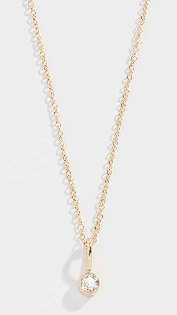 Zoe Chicco 14k Diamond Necklace