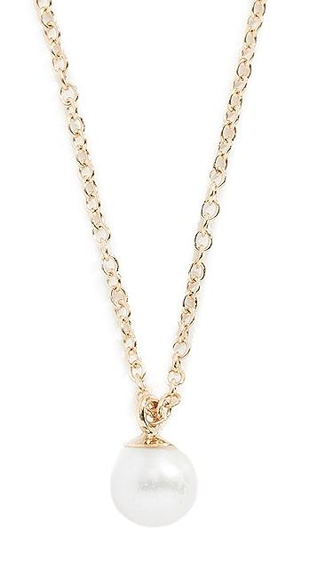 Zoe Chicco 14k 珍珠短项链