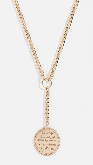 Zoe Chicco 14k Large Lariat Necklace