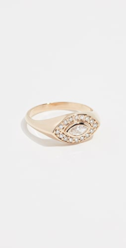 Zoe Chicco - 14k Marquis Signet Ring