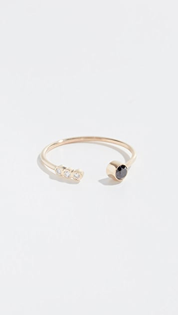 Zoe Chicco 14k Open Ring with Diamonds