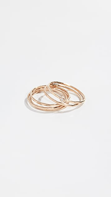 Zoe Chicco 14k Stacked Band Ring