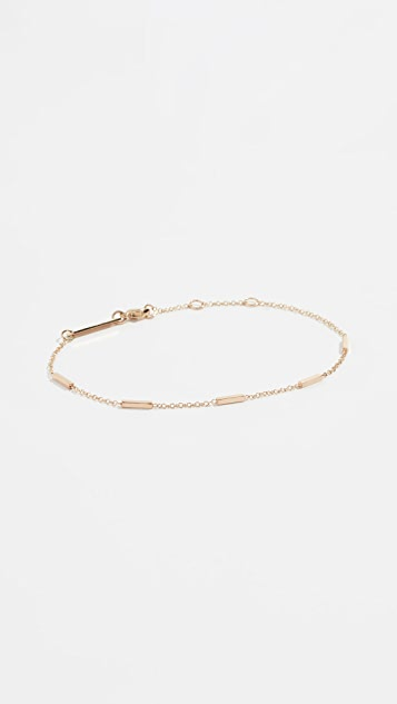 Zoe Chicco 14k Horizotal Tiny Bar Bracelet