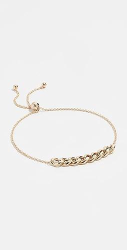 Zoe Chicco - 14k Gold Curb Chain Station Bracelet