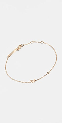 Zoe Chicco - 14k Gold Itty Bitty Butterfly Bracelet