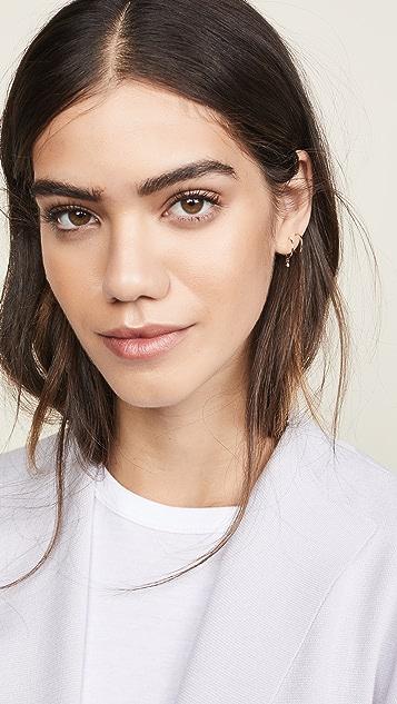 Zoe Chicco 14k Gold Hoop Huggie Earrings
