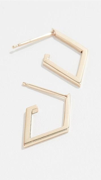 Zoe Chicco 14k Gold Hoop Earrings