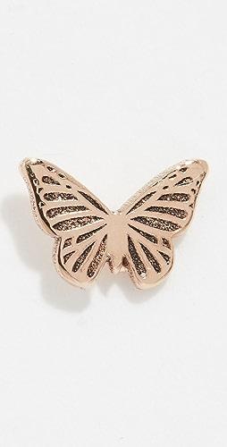 Zoe Chicco - 14k Gold Itty Bitty Butterfly Single Stud Earring