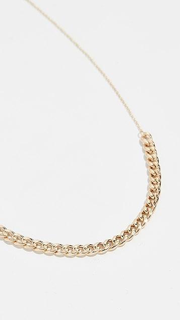 Zoe Chicco Колье-цепочка панцирного плетения из 14-каратного золота
