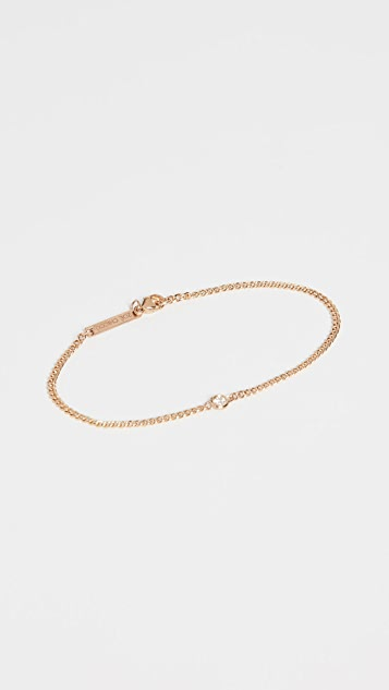 Zoe Chicco 14k Gold Curb Chain Bracelet V4KDa50a