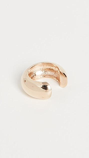 Zoe Chicco 14k Gold Thick Round Ear Cuff