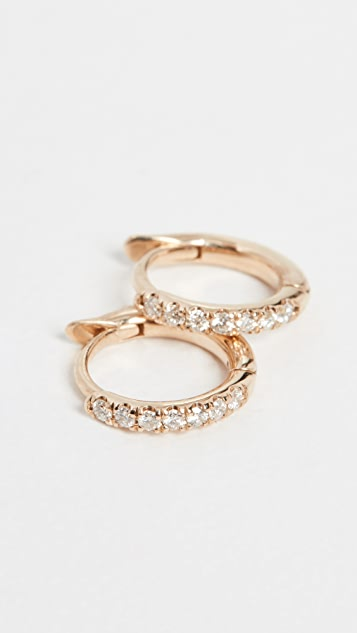 Zoe Chicco 14k Gold Huggie Hoops