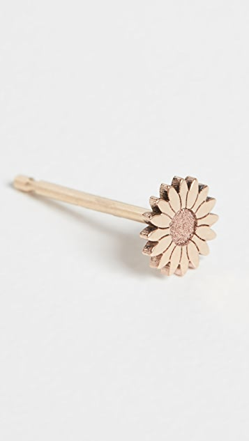 Zoe Chicco 14k Gold Itty Bitty Flower Stud Earring
