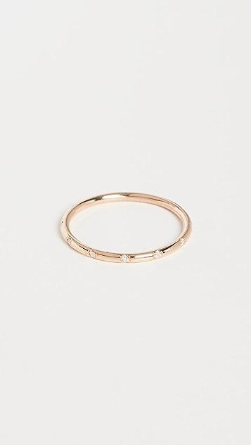 Zoe Chicco 14k 金圆形指环戒指