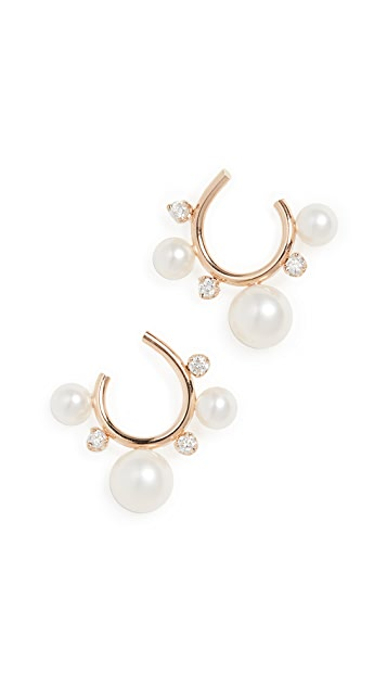 Zoe Chicco 14k Gold Small Hoops