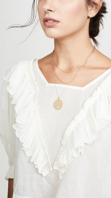 Zoe Chicco 14k Gold Double Chain Necklace