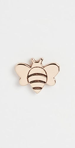 Zoe Chicco - 14k Gold Single Itty Bitty Bee Stud