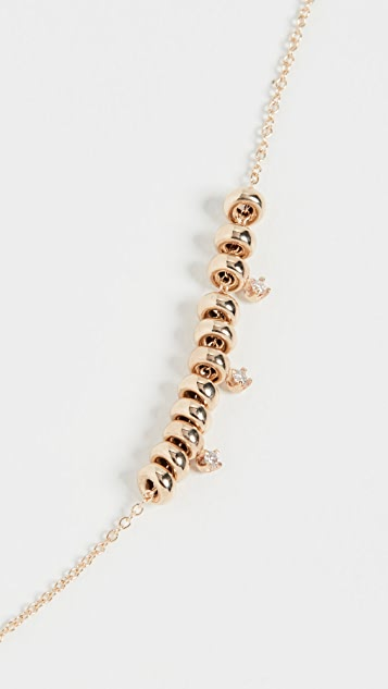 Zoe Chicco 14k Gold Rondelle Necklace