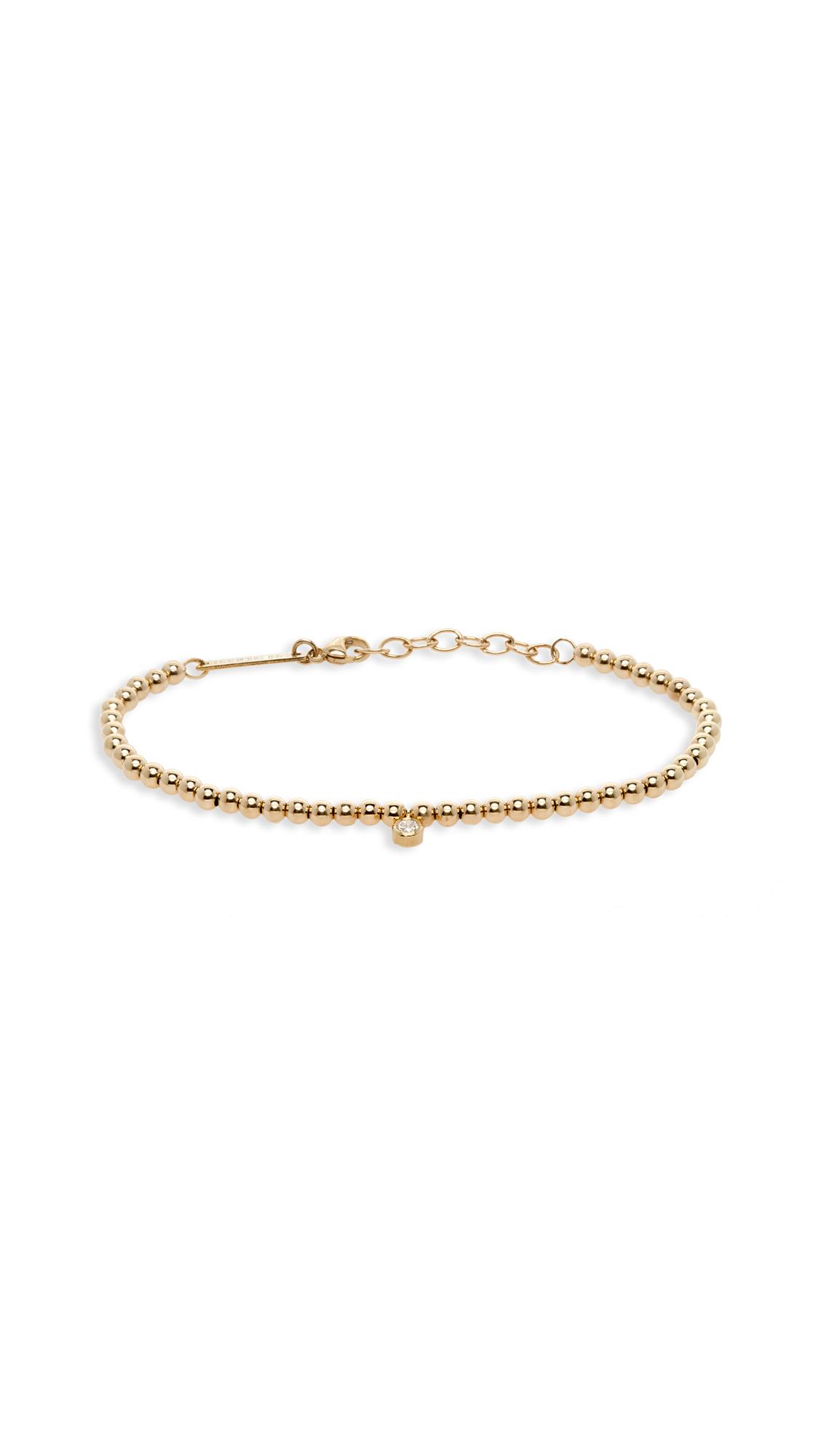 Zoe Chicco 14k Gold Chain Bracelet