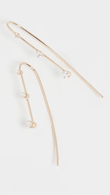 Zoe Chicco 14k Gold Wire Earrings