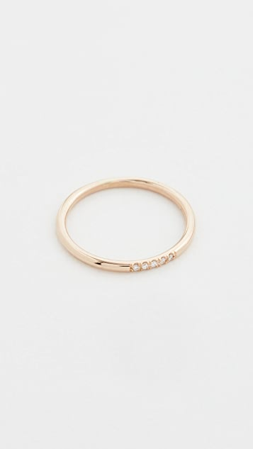 Zoe Chicco 14k Gold Round Band Ring