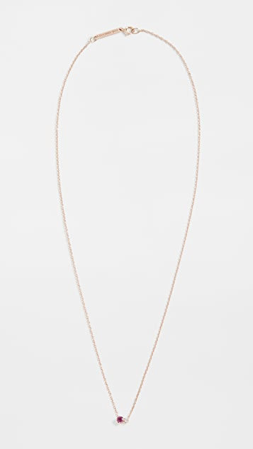 Zoe Chicco 14k Gold 2 Mixed Stones Necklace