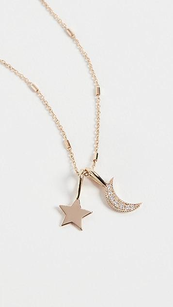 Zoe Chicco 14k Gold Medium Star Pendant