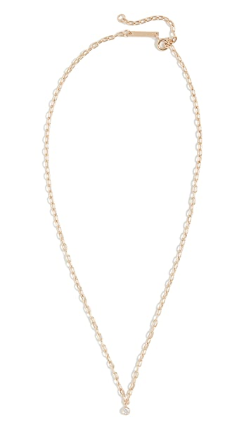 Zoe Chicco 14k Gold Small Square Oval Link Chain