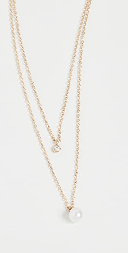 Zoe Chicco - 14k Gold Double Layer Chain Necklace