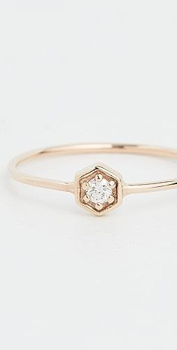 Zoe Chicco - 14k Gold Hexagon Ring