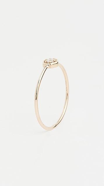 Zoe Chicco 14k Gold Hexagon Ring