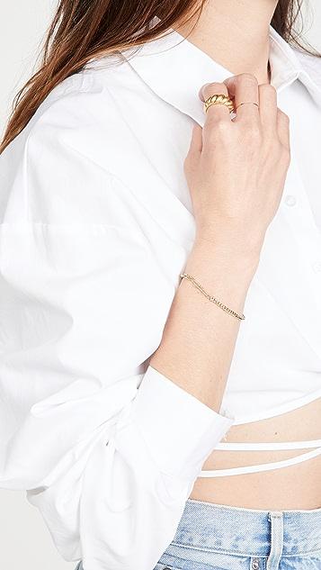 Zoe Chicco 漂浮钻石手链