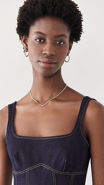 Zoe Chicco Floating Diamonds Necklace