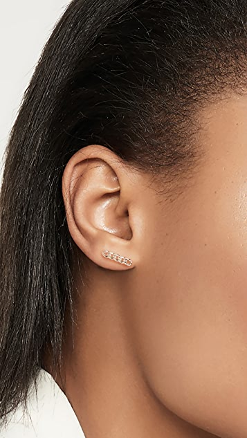 Zoe Chicco 质感金属耳环