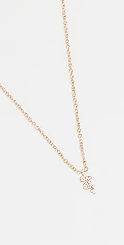 Zoe Chicco - Itty Bitty Symbols Necklace