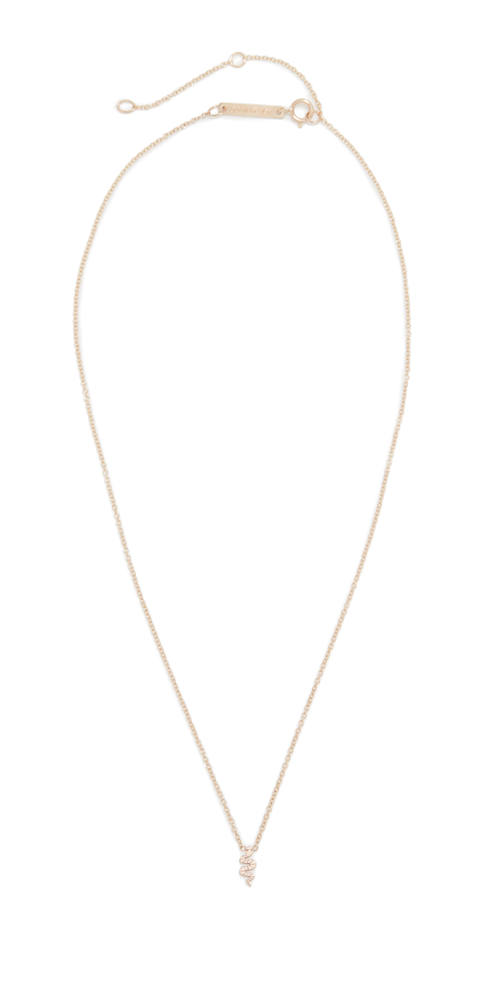 Zoë Chicco Itty Bitty Symbols Necklace In Gold