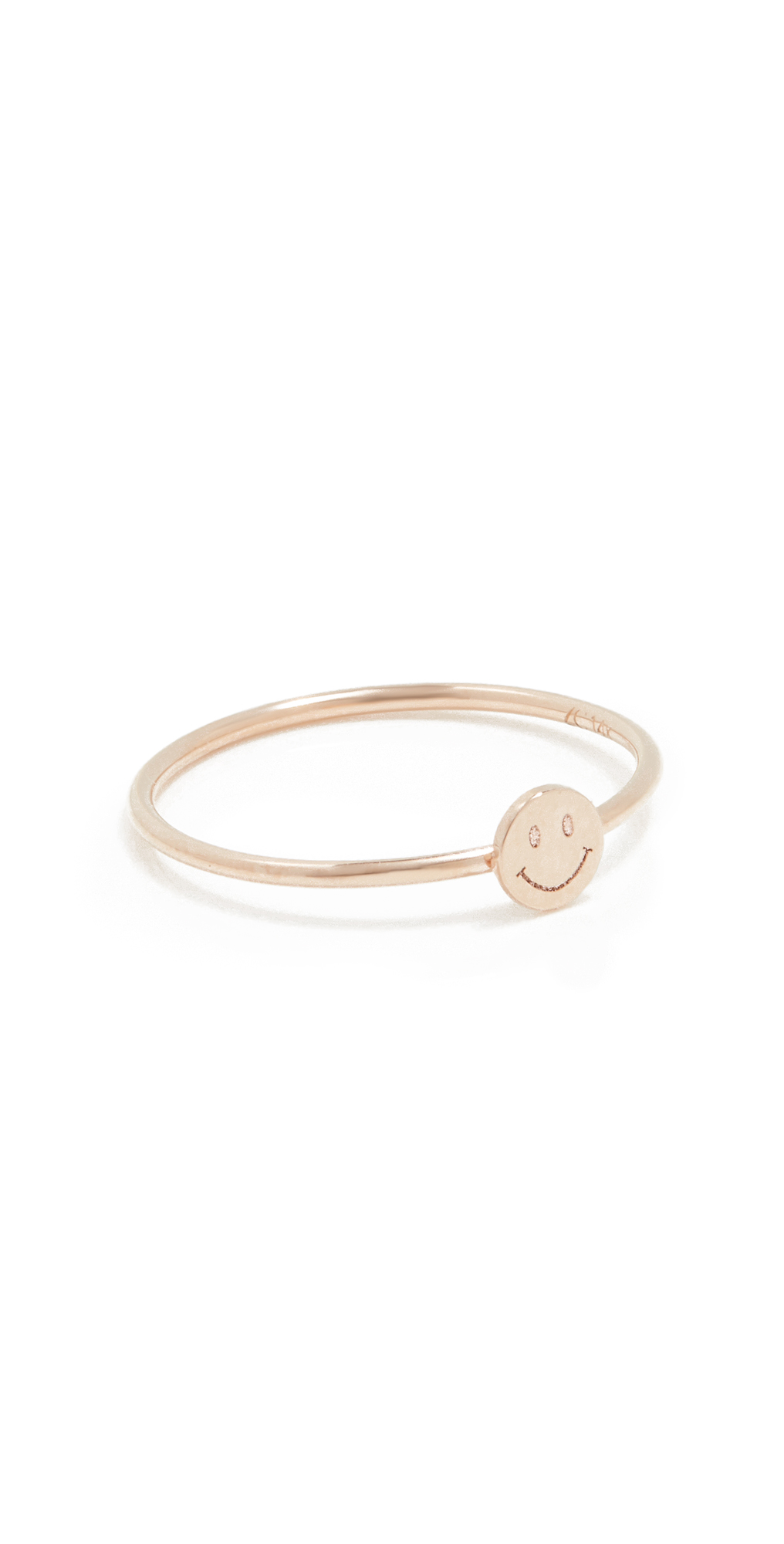 Zoë Chicco Itty Bitty Symbols Ring In Gold